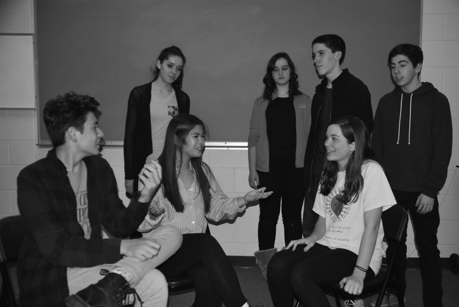 New Theater Group Performs The Election