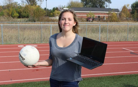 Freshman Madison Parola tries to juggle student life with athletics.