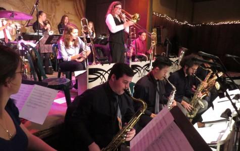 Jazz Ensemble Performs at Famous Venue