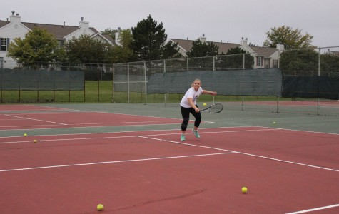 Girls Tennis Pushed to the Limit