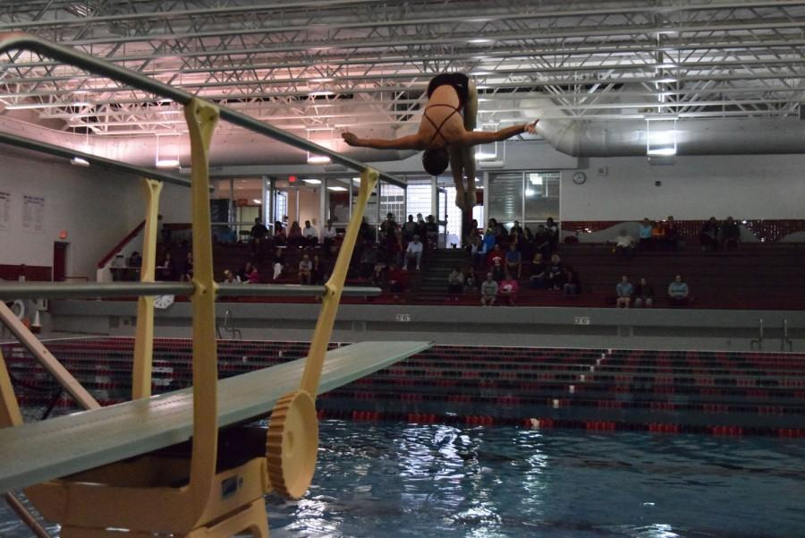 Diving is recognized as one of the most physically demanding sports Mundelein High School has to offer.