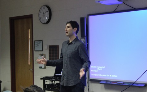 New York Author Inspires MHS Students in Second Annual Author Visit