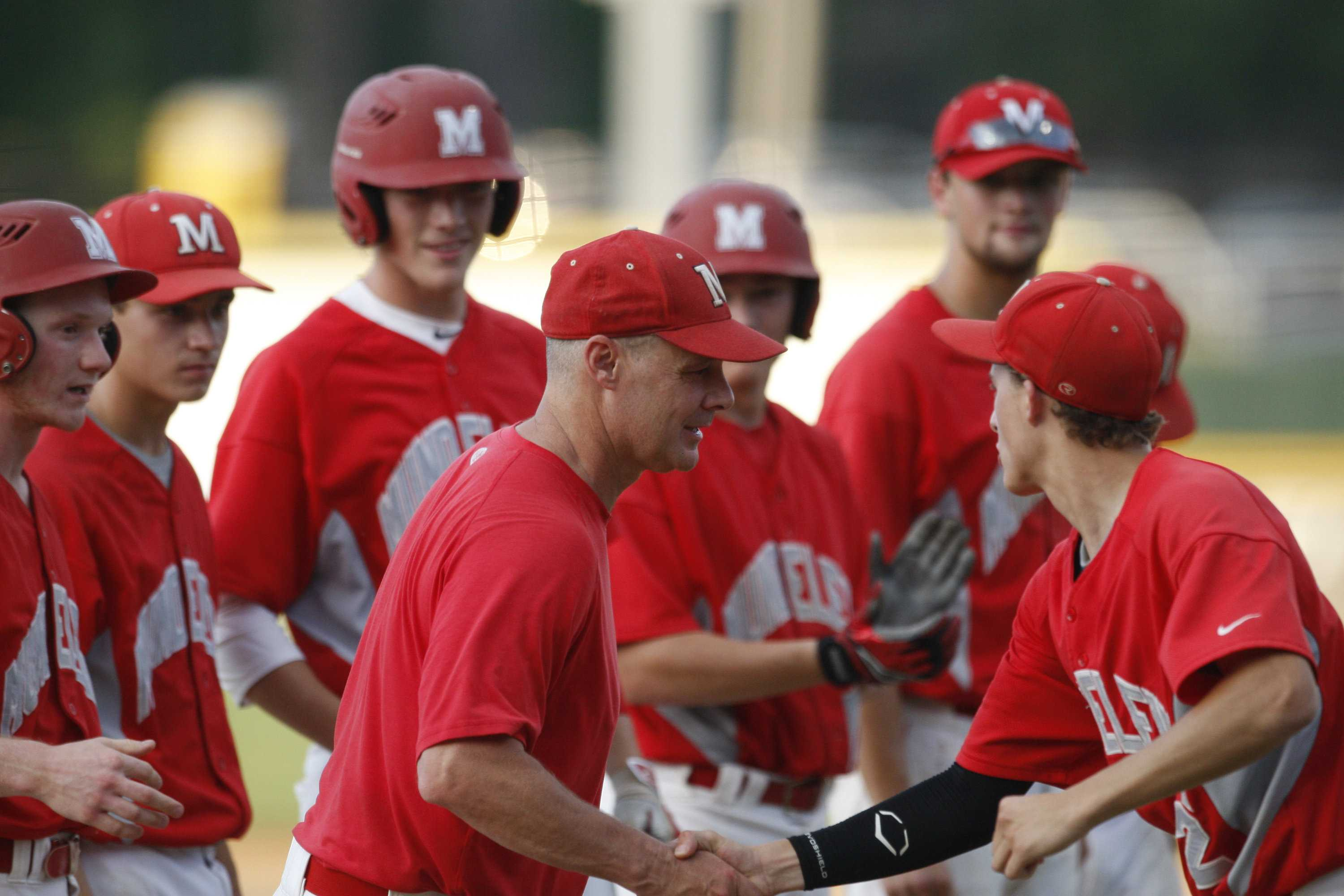 Baseball Head Coach Todd Parola led his 2016 team to the state championship where MHS placed second.