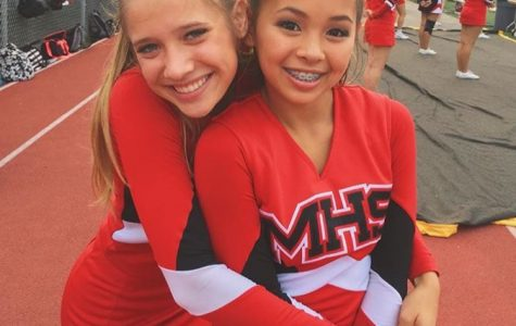 Freshman Lands Spot on Varsity Cheerleading Team