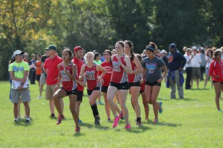 Girls Cross Country Sprints Into State Series