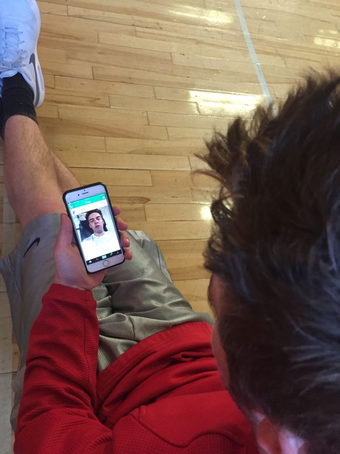 Senior Ryan Magee uses Vine, as the app is still accessible, but no new content can be posted.