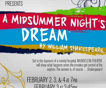MHS Theatre presents William Shakespeare's A Midsummer Night's Dream.