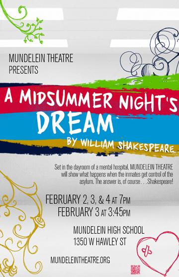 MHS Theatre presents William Shakespeares A Midsummer Nights Dream.