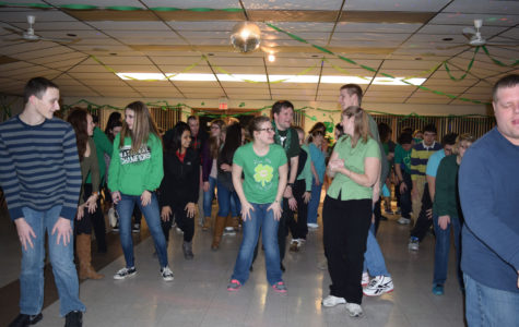 NHS-Sponsored St. Patrick's Day Dance gives SRACLC Something to Celebrate
