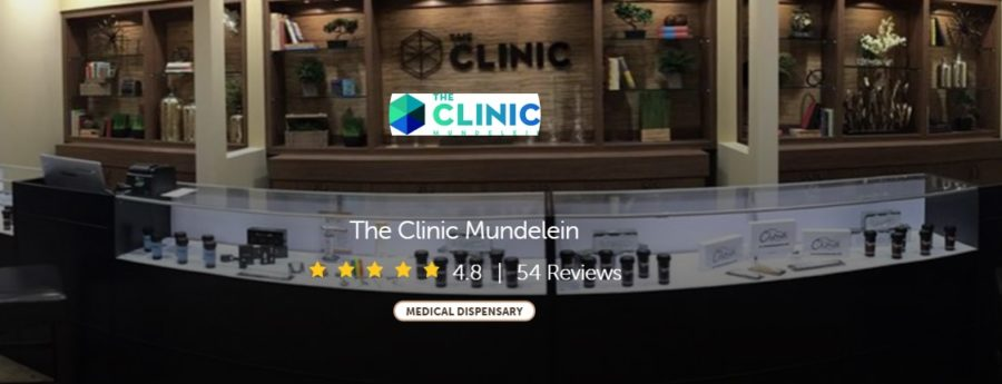 Review and screenshot of the Clinic in Mundelein courtesy of leafly.com