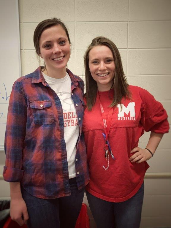 Mathematics teachers Julie Block and Maggie Sharp will visit Ghana, Africa, for a three-week service trip. Photo submitted by Maggie Sharp.