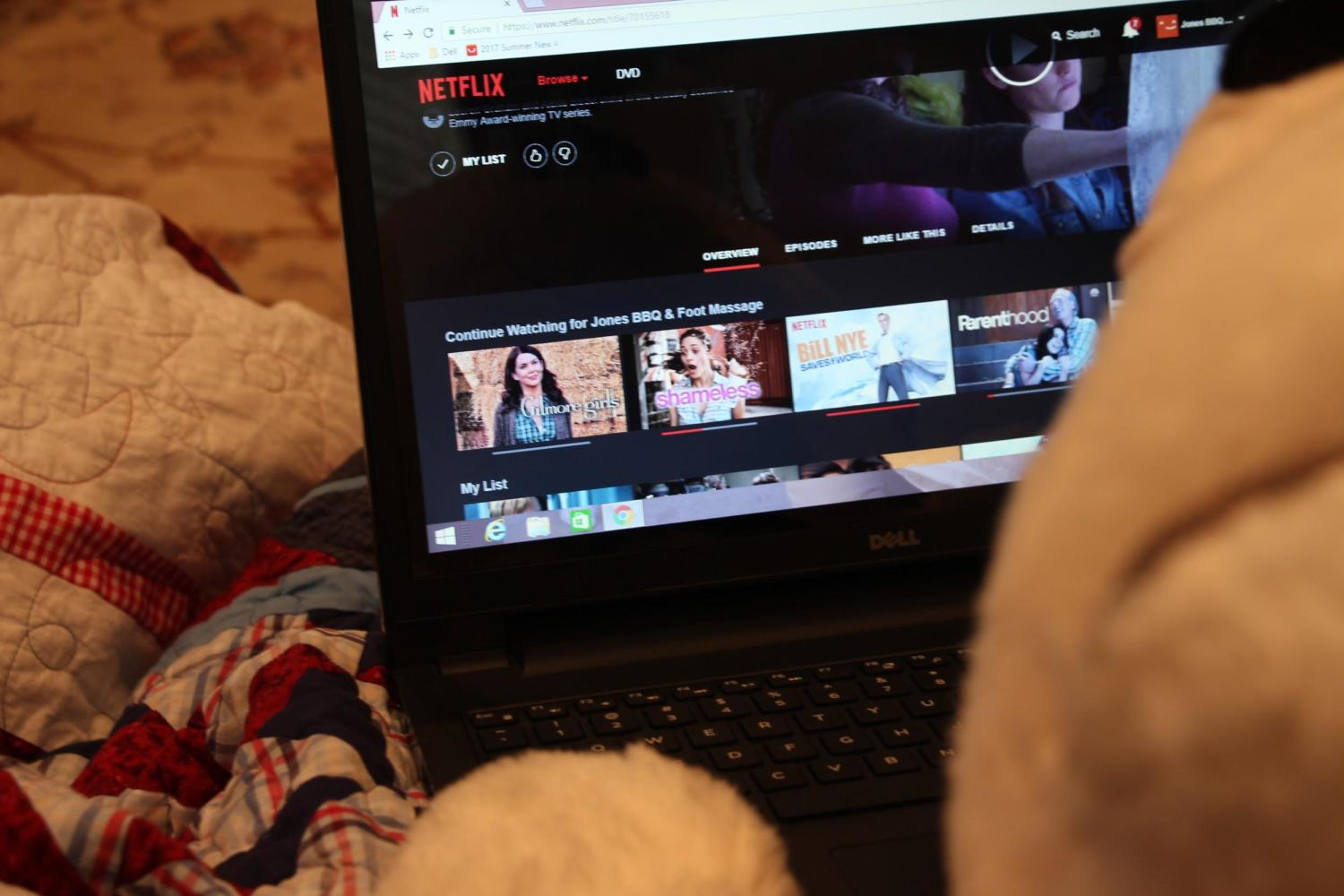 """Step four: Browse through the different shows and movies on Netflix to find one that piques your interest. Pick the one that intrigues you the most because you don't want to watch a show that's not your taste. Beary found the show """"Gilmore Girls"""" and decided that he'd watch that as his binge show."""