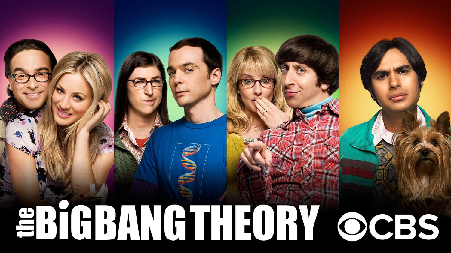 The Big Bang Theory airs on CBS. Photo courtesy of IMDB.
