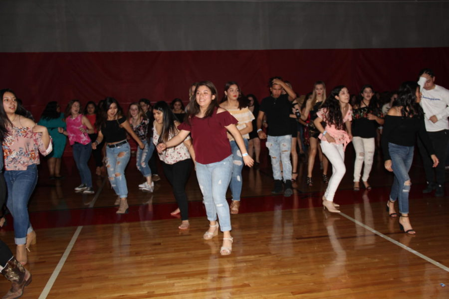 MHS students dance at the first annual