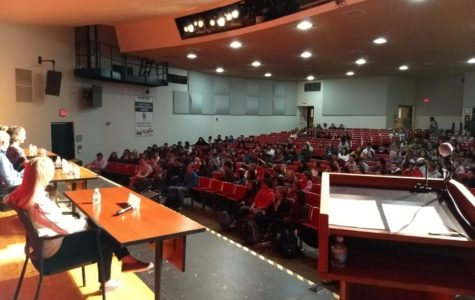 College Week college rep panelists prep students for application process