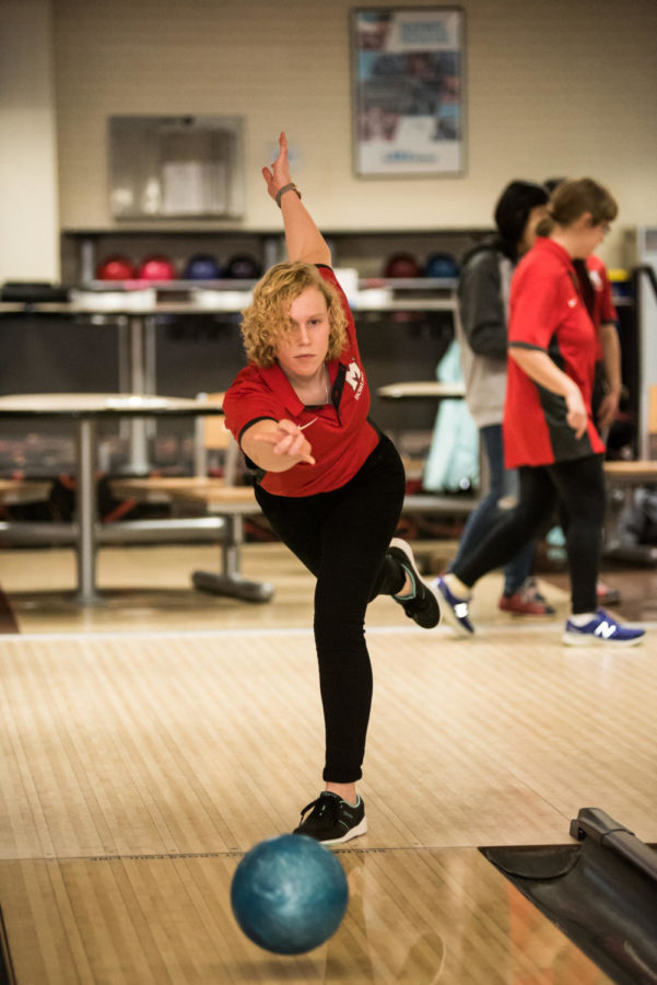 MHS introduces newest sport: Girls, boys bowling