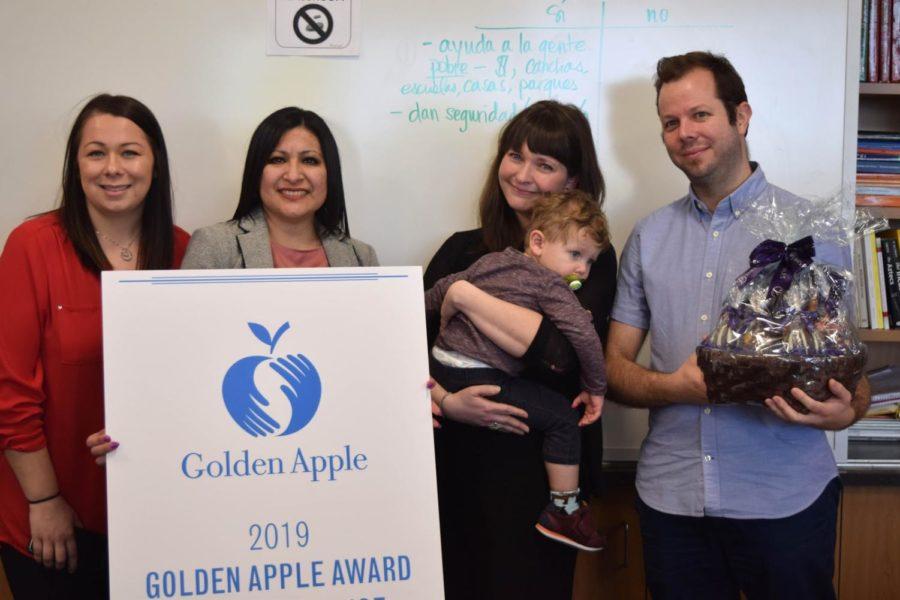 Q&A with Golden Apple Award winner