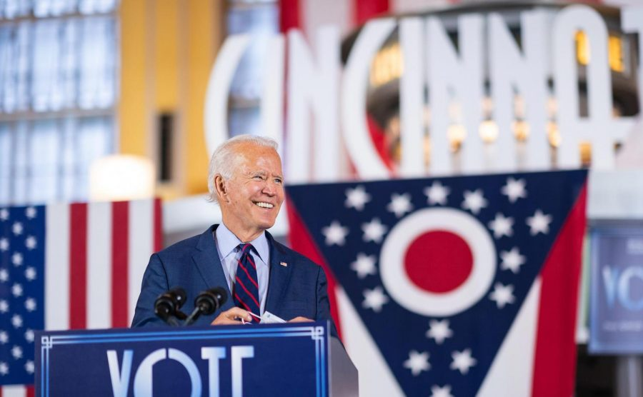 "Joe Biden won the presidential race, and is prioritizing COVID-19, climate change, racial equity and economic recovery as president-elect. ""We are in the battle for the soul of this nation,"" Biden said on April 25, 2019, the day he announced that he was running for president."