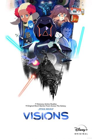 """Released on Disney+ on Sept. 22, """"Star Wars: Visions"""" is a nine-eposide anime series loosely covering aspects of the Star Wars Universe. About the show, Emanuel Cortes, senior, said, """"I said to myself, 'Oh no, I really don't like this, and I don't think I will.' But once I saw the show and saw all the cool animations that anime does, and I'm thinking, 'Wow, am I missing all of this?'-- but not just in Star Wars, but on other anime shows. This changed my perspective on anime. I have more respect toward it, and I think people should think the same."""""""
